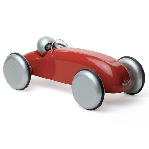 Large Wooden Speedster Car in Red by Vilac - Junior Edition