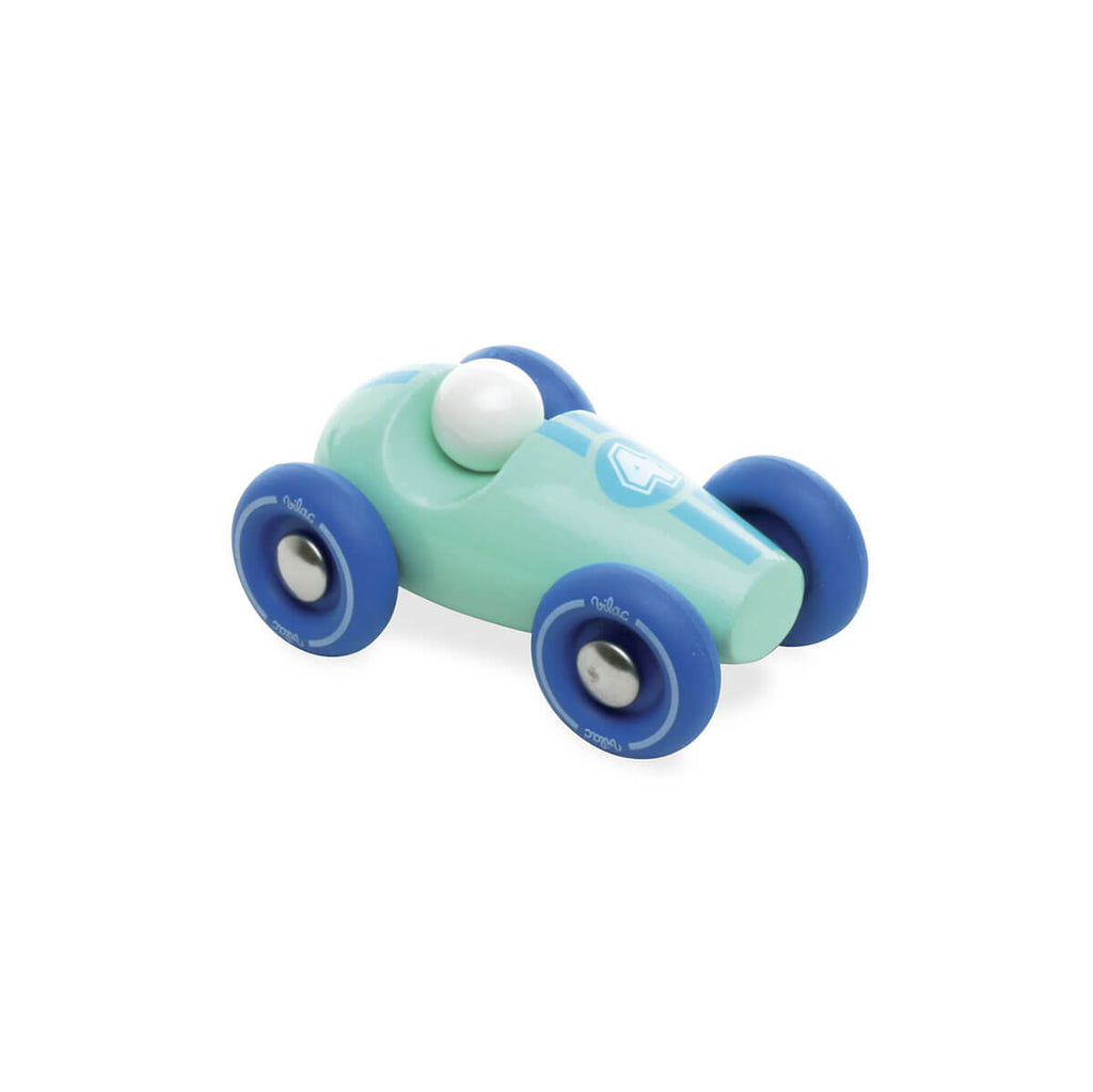 Wooden Mini Racing Car by Vilac - Junior Edition