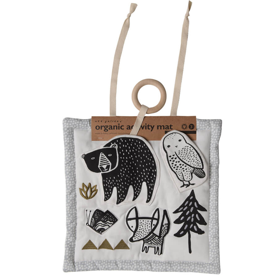 Woodland Organic Cotton Activity Pad by Wee Gallery - Junior Edition