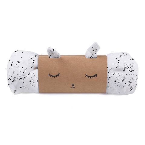 Splatter Organic Muslin Swaddle by Wee Gallery