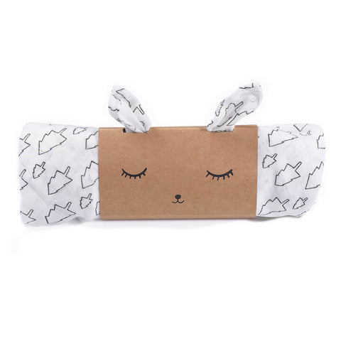 Trees Organic Muslin Swaddle by Wee Gallery - Junior Edition