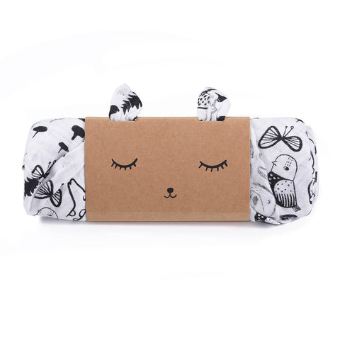 Wild Organic Muslin Swaddle by Wee Gallery - Junior Edition