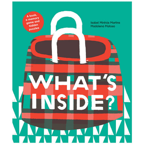 What's Inside? by Isabel Minhós Martins & Madalena Matoso - Junior Edition  - 1