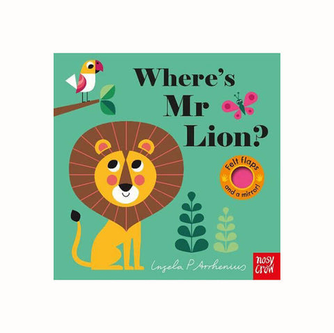 Where's Mr Lion? by Ingela P. Arrhenius - Junior Edition