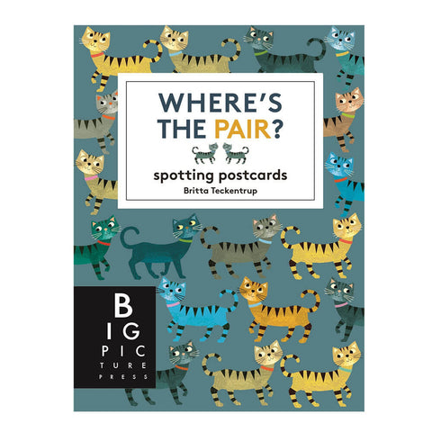 Where's The Pair? Spotting Postcards by Britta Teckentrup - Junior Edition