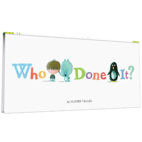 Who Done It? by Olivier Tallec - Junior Edition  - 1