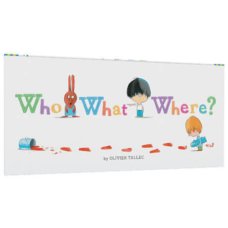 Who What Where? by Olivier Tallec - Junior Edition  - 1