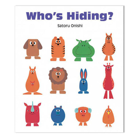 Who's Hiding by Satoru Onishi - Junior Edition  - 1