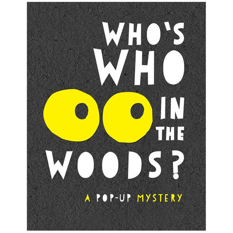 Who's Who In The Woods by Andy Mansfield - Junior Edition