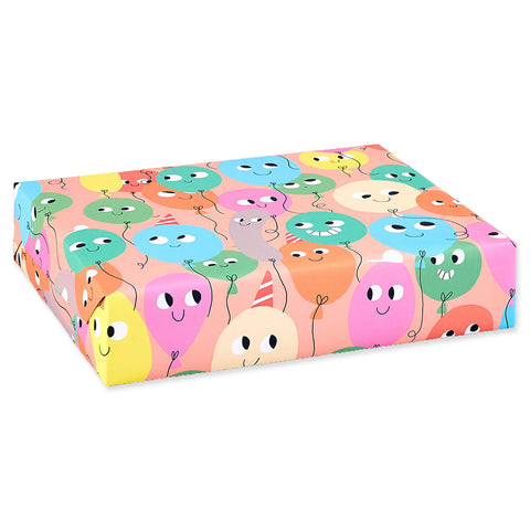 Balloons Gift Wrap by Elliot Kruszynski for Wrap - Junior Edition