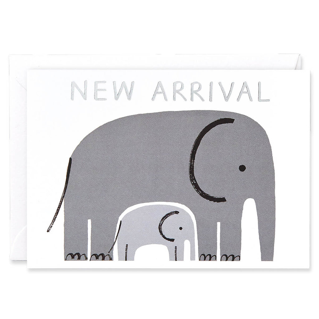 New Arrival Greetings Card by Charlotte Trounce for Wrap - Junior Edition