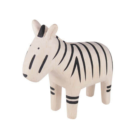 Zebra - Polepole Wooden Animal by T-Lab - Junior Edition  - 1