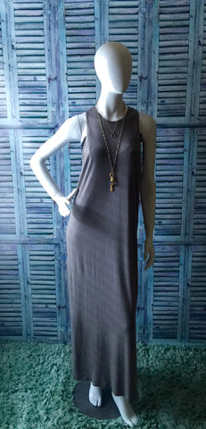 Color Me Grey Maxi Dress