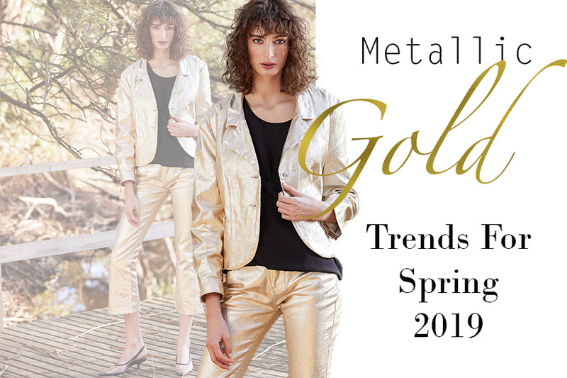 Spring 2019 Is Full Of Metallic Accents