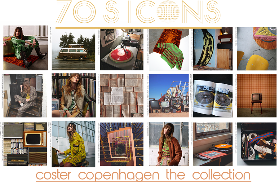 Coster Copenhagen's Ode To The 70's Icons