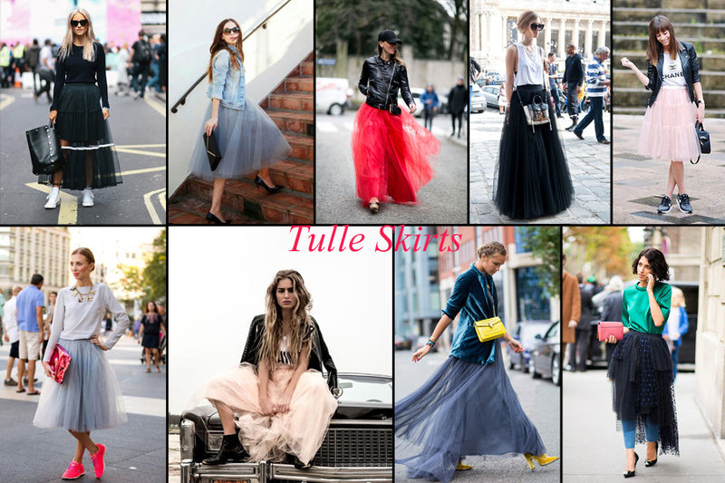 How To Wear A Tulle Skirt And Look Like A Fashion Blogger