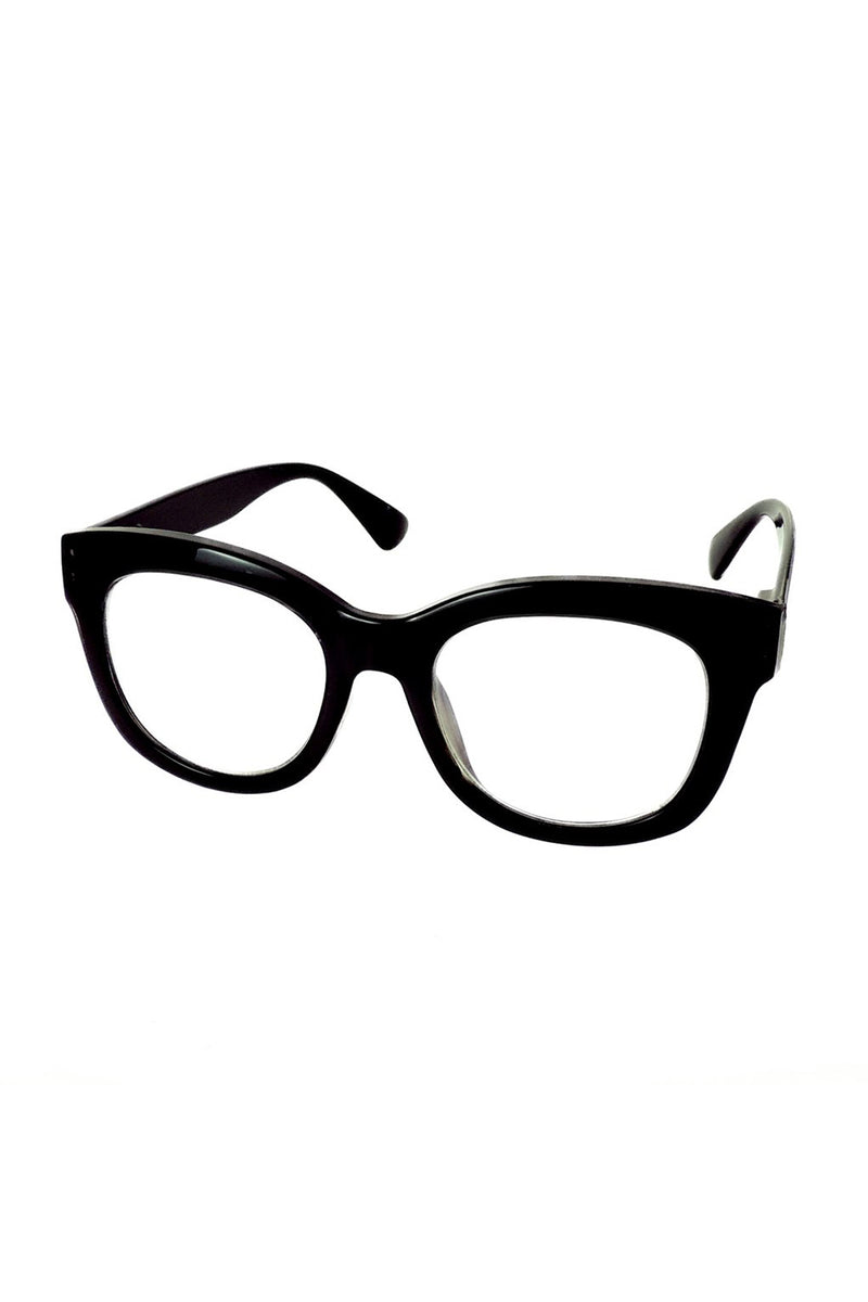 Captivated Eyewear / Reading Glasses / Magnification 2 / Black