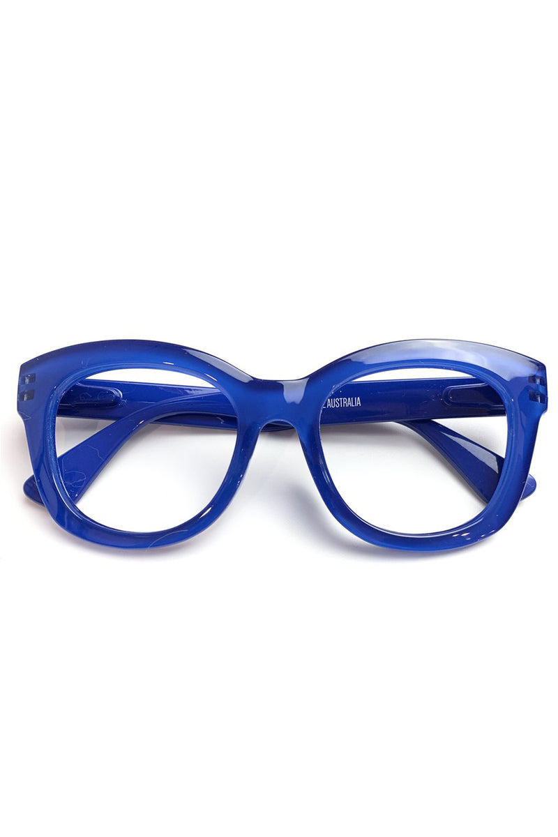 Captivated Eyewear / Reading Glasses / Magnification 1.5 / Blue