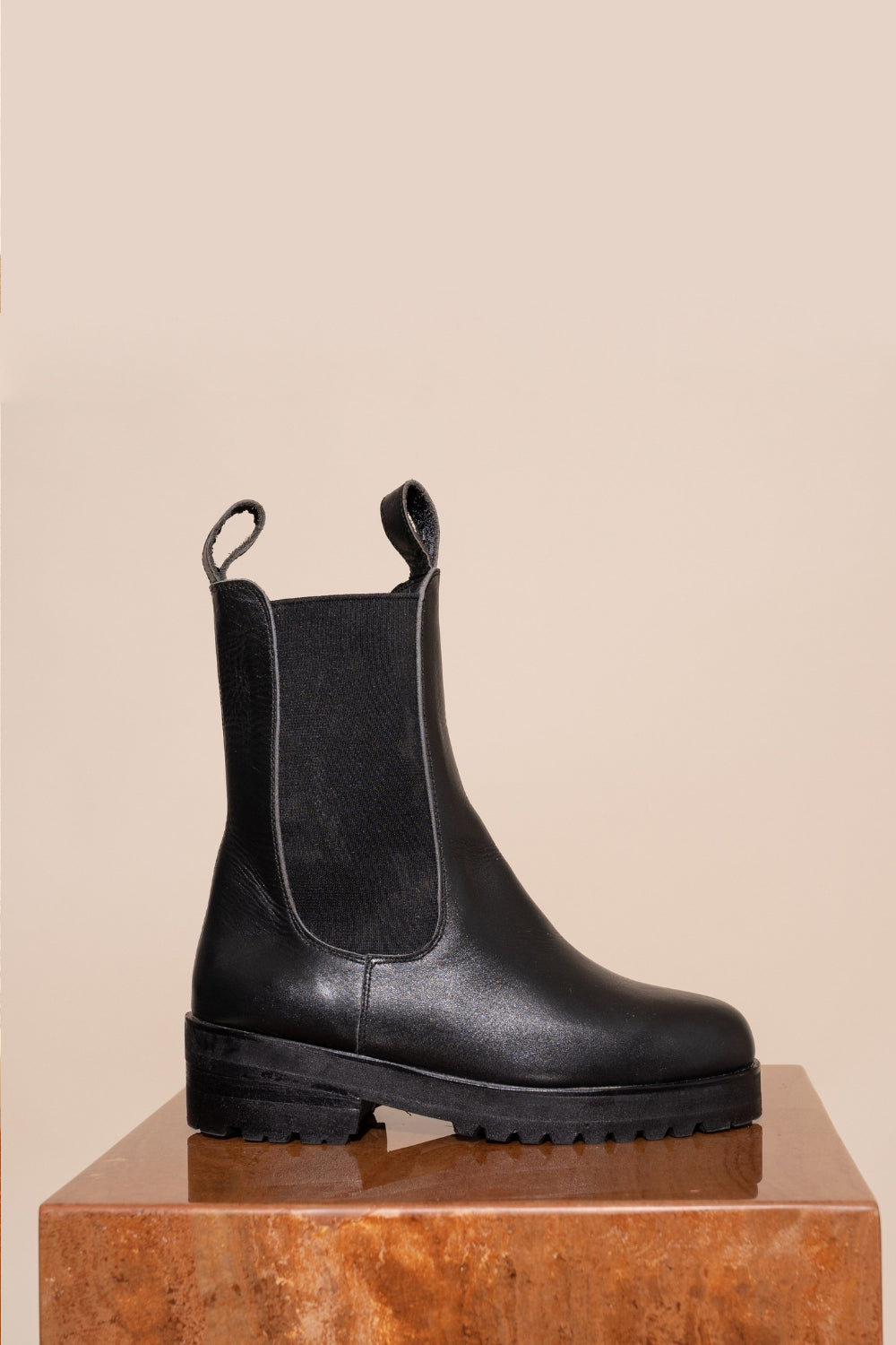 James Smith / Como Combat Boot / Black