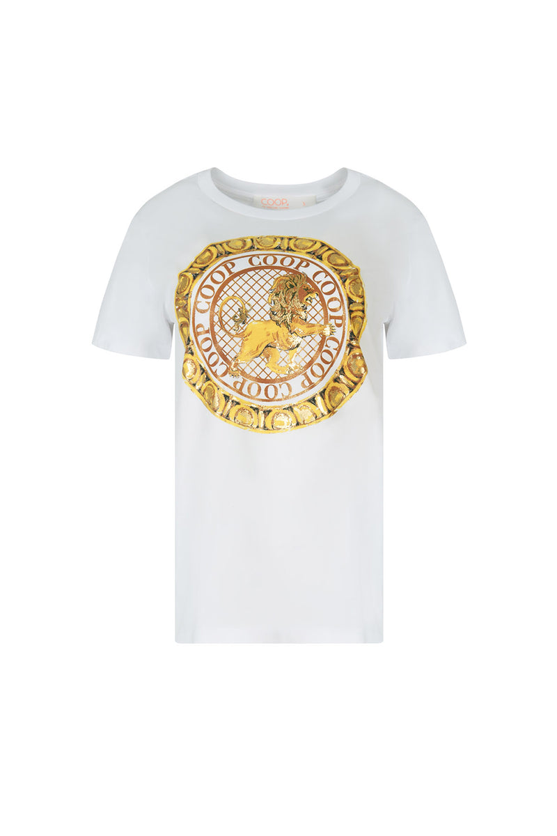 Coop / King Of The Ring Tee / White
