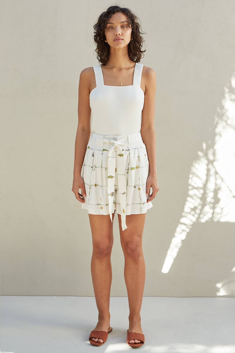 Sancia / The Leia Shorts / Le Jardin Floral