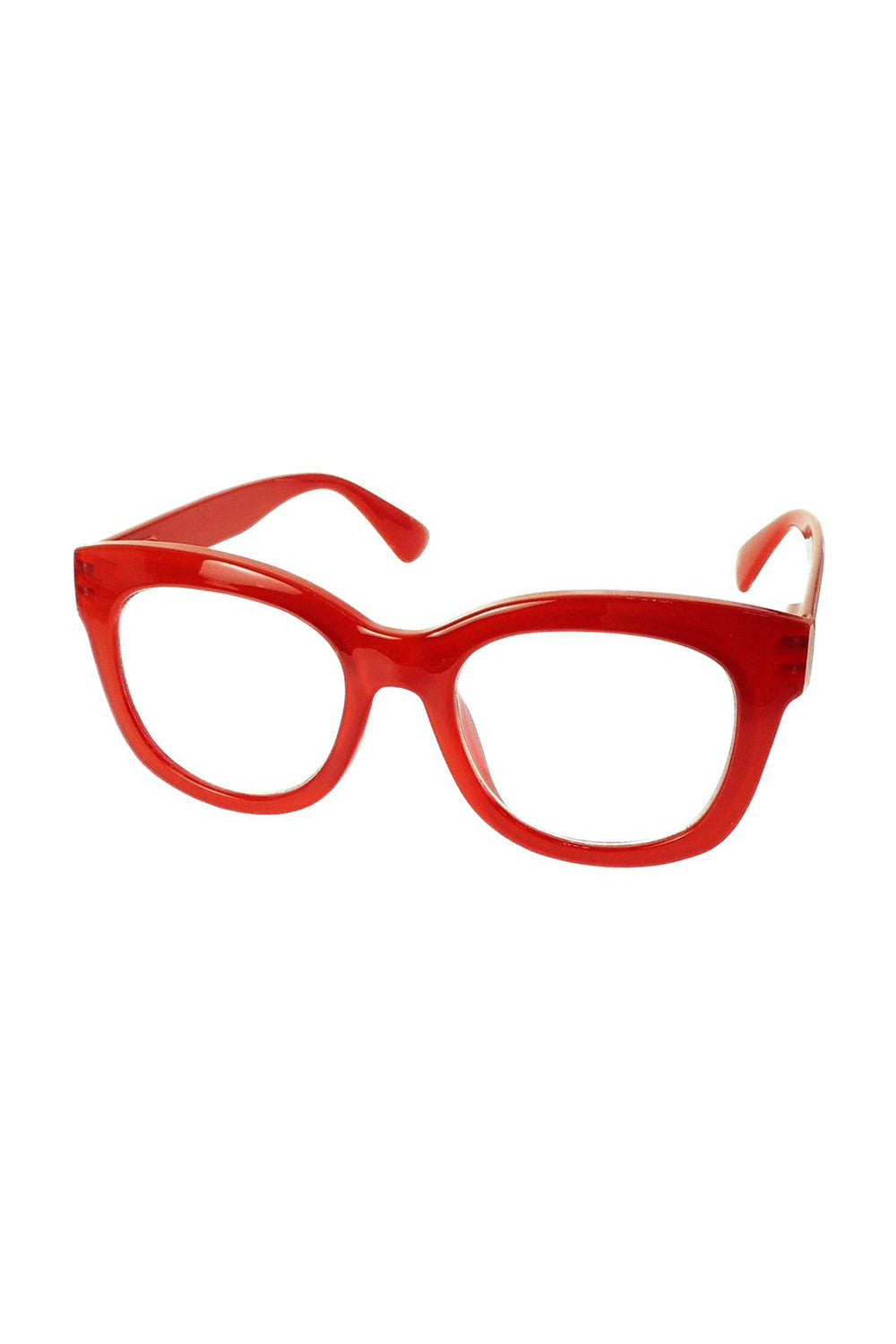 Captivated Eyewear / Reading Glasses / Magnification 1.5 / Red
