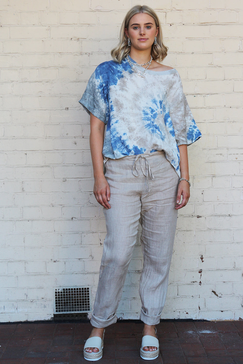 Ridley The Label  / Free Will Pant / Sand
