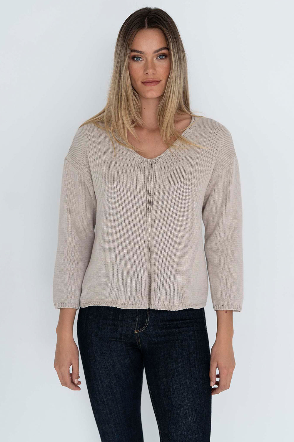Humidity / Tillie Knit Top / Stone