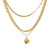 Lovely Layers Necklace - Ivory