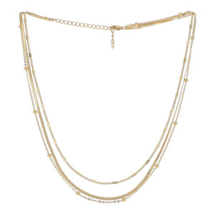 Lovely Layers Necklace - Fine Gold