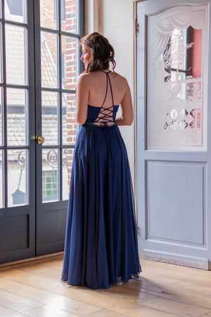 Jaw Dropping Dress - Navy