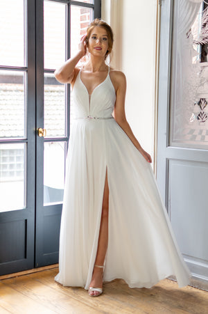 Jaw Dropping Dress - White