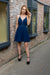 About A Girl Dress - Navy