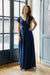 Grace & Charm Dress - Navy