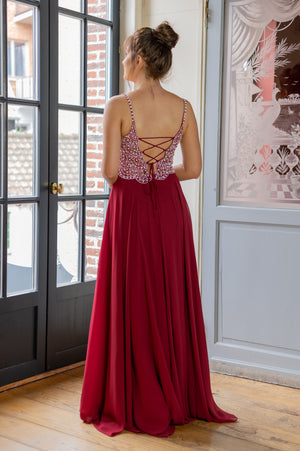 Must-Have Dress - Bordeaux