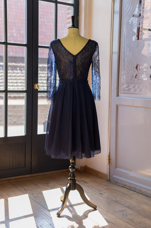Party Mood Dress - Navy