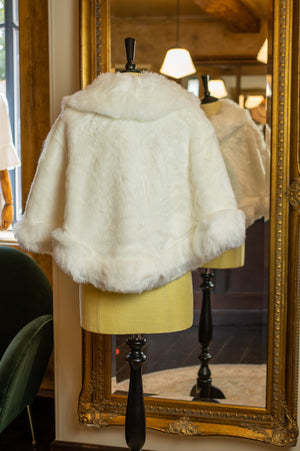Faux Fur Bontje - White