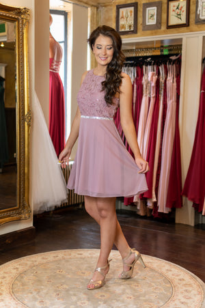 Cuteness Dress - Mauve