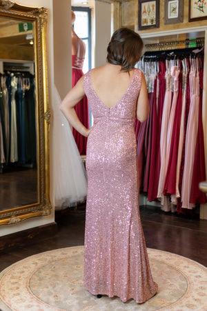 Sequin Fever Dress - Pink