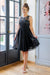 A Hint Of Glam Dress - Short Black