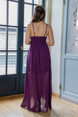Wild @ Heart Dress - Aubergine