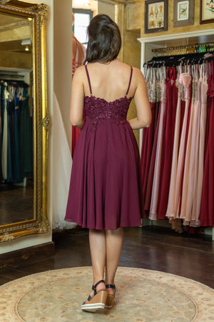 I ♥️ You Dress - Bordeaux