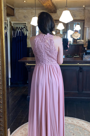 It's All In The Details Dress - Old Pink