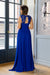 Queen Dress - Bright Blue