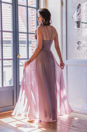 Sunset Dress - Mauve