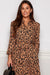 Leopard Spot Dress - Tan