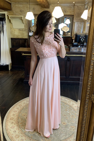 Save The Last Dance Dress - Pastel Pink