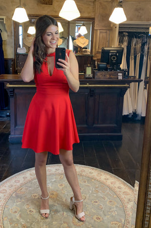 Date Night Dress - Red