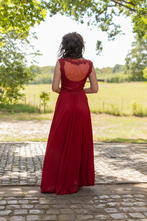 Cherry Dress - Cerise