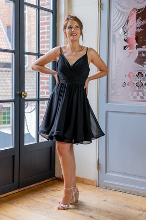 Twirl Dress - Black
